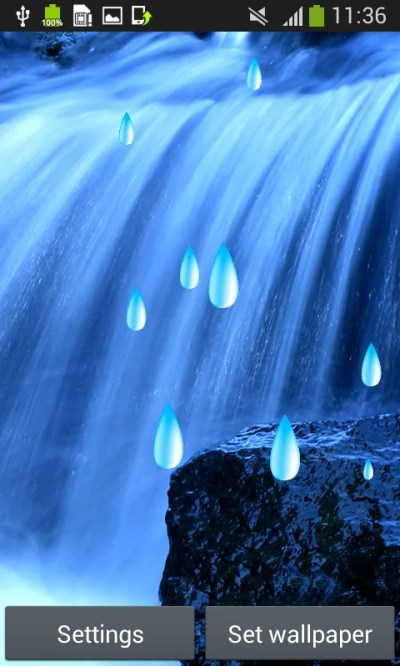Water Live Wallpapers for Android - Download