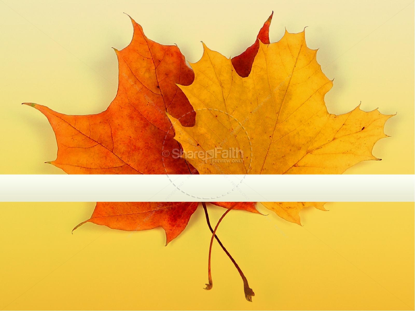 Fall Leaves Clip Art Wallpaper Welcome Fall Sermon Powerpoint Fall Thanksgiving Powerpoints