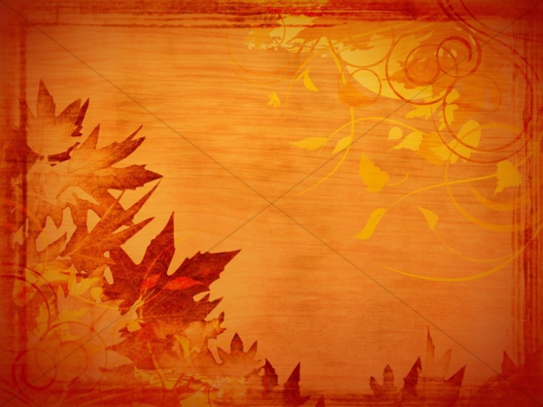 Fall Give Thanks Wallpaper Giving Thanks Powerpoint Slide Fall Thanksgiving Powerpoints