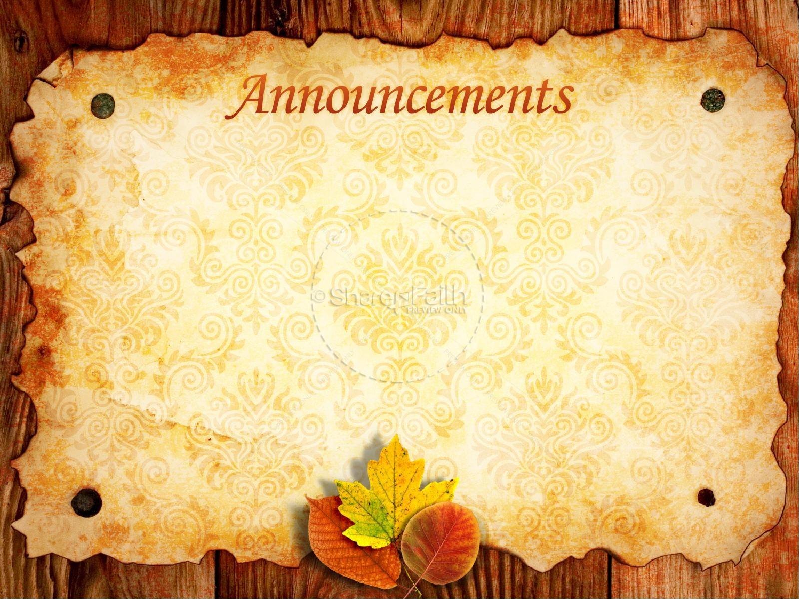 Christian Wallpaper Fall Offering Offer Thanks Sermon Powerpoint Fall Thanksgiving Powerpoints