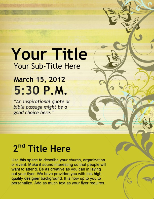 Womens Conference Flyer Design Template Flyer Templates - flyers design samples