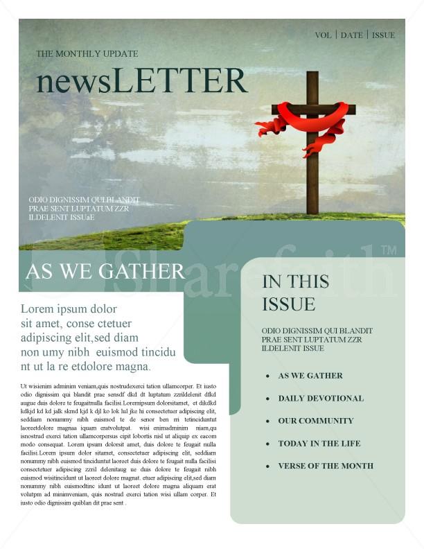 Church Newsletters Template Newsletter Templates - church newsletter