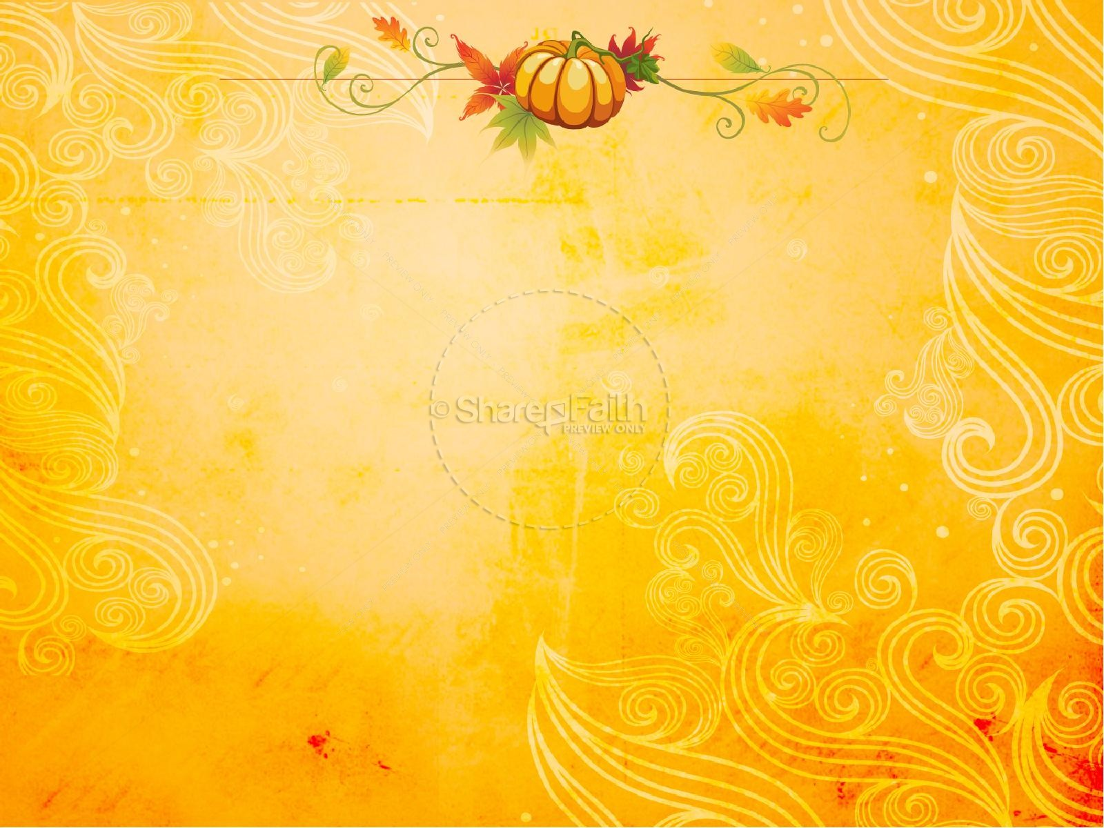 Falling Leaves Live Wallpaper Hd Happy Fall Powerpoint Template Fall Thanksgiving Powerpoints