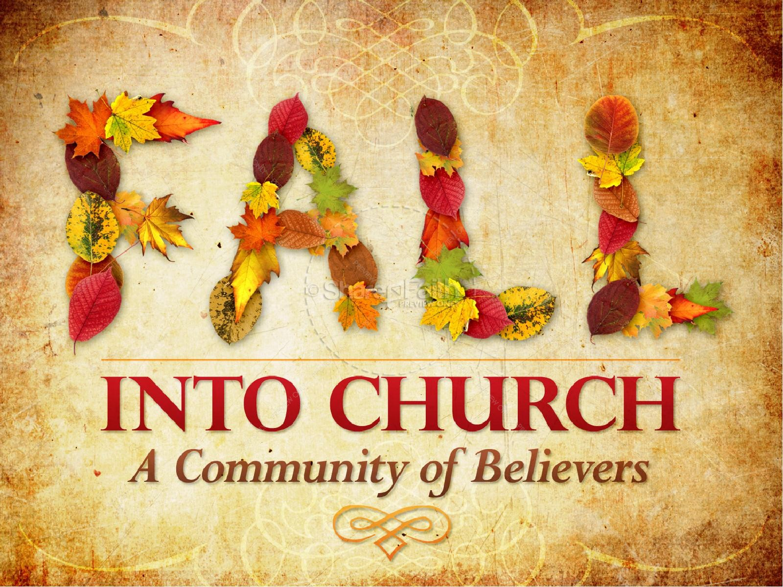 Free Fall Scripture Wallpaper Church Community Autumn Powerpoint Fall Thanksgiving