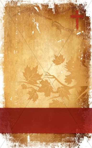 Free Fall Wallpaper Apps Thanksgiving And The Cross Church Bulletin Cover