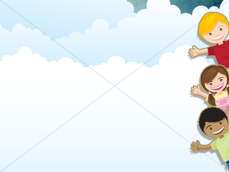 Kids PowerPoint Background Worship Backgrounds - ppt background school