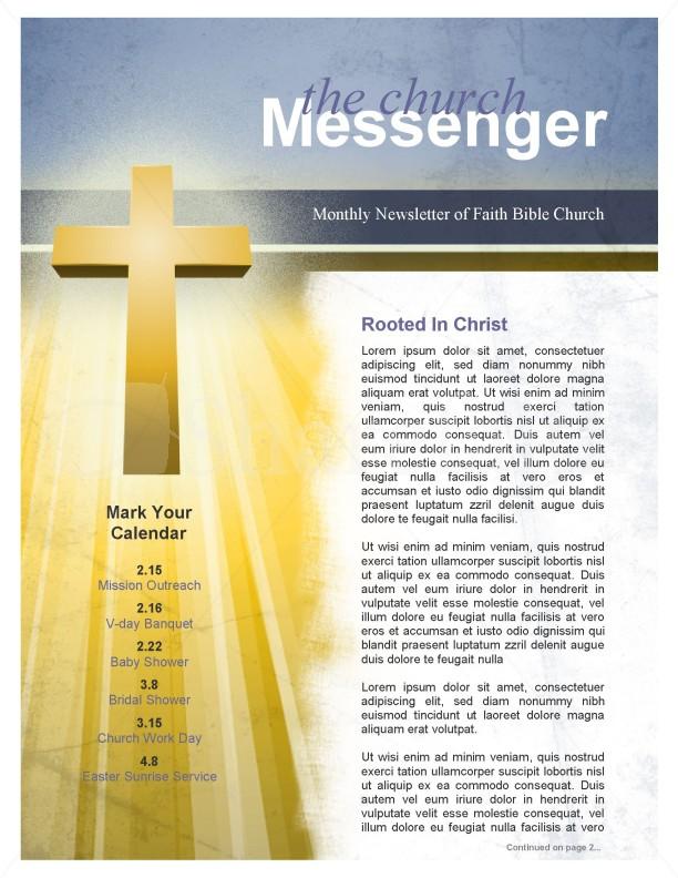 Forgiveness Church Newsletter Template Newsletter Templates - church newsletter