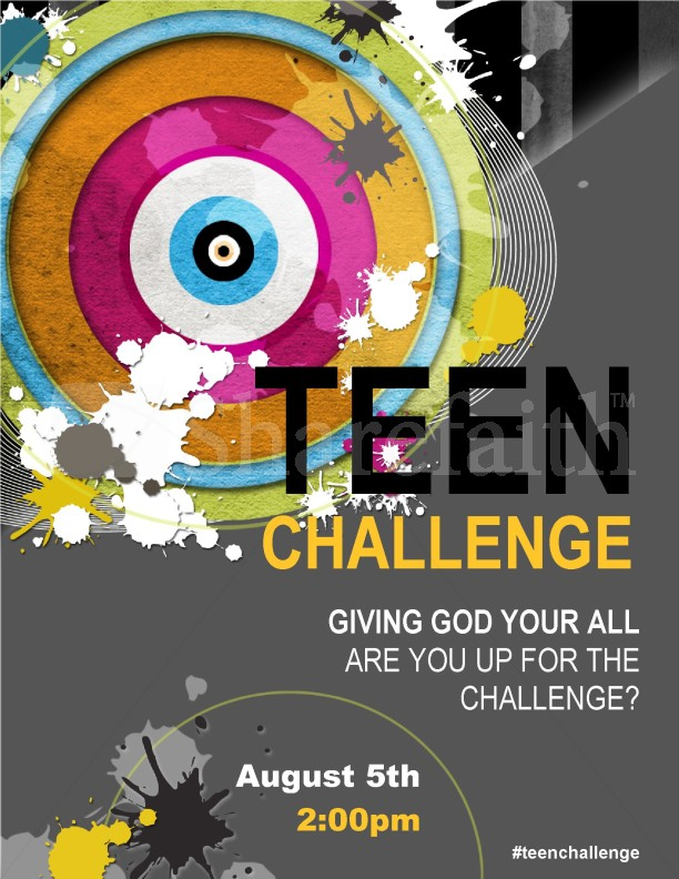 Youth Church Flyer Templates Template Flyer Templates