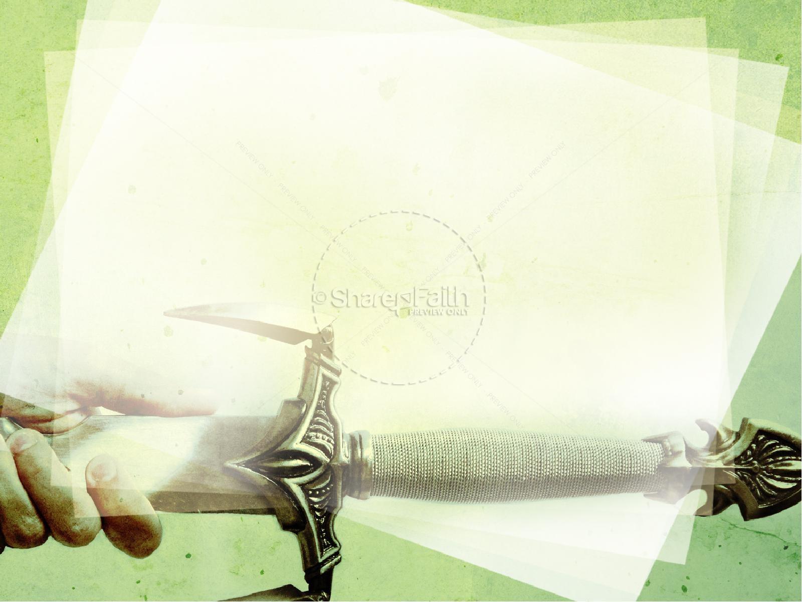 the sword powerpoint sermon