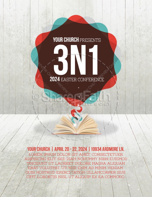 Church Conference Flyer Design Template Flyer Templates