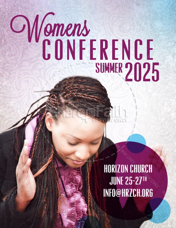 Womens Conference Flyer Templates for Church Template Flyer Templates