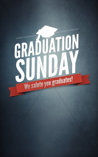 Graduation Sunday Program Cover Template Secular Holiday Bulletin - graduation program covers