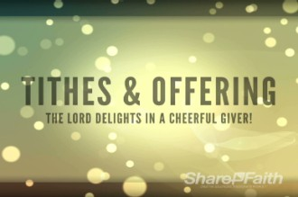 Christian Wallpaper Fall Offering Tithes And Offerings Motion Church Video Loop Church