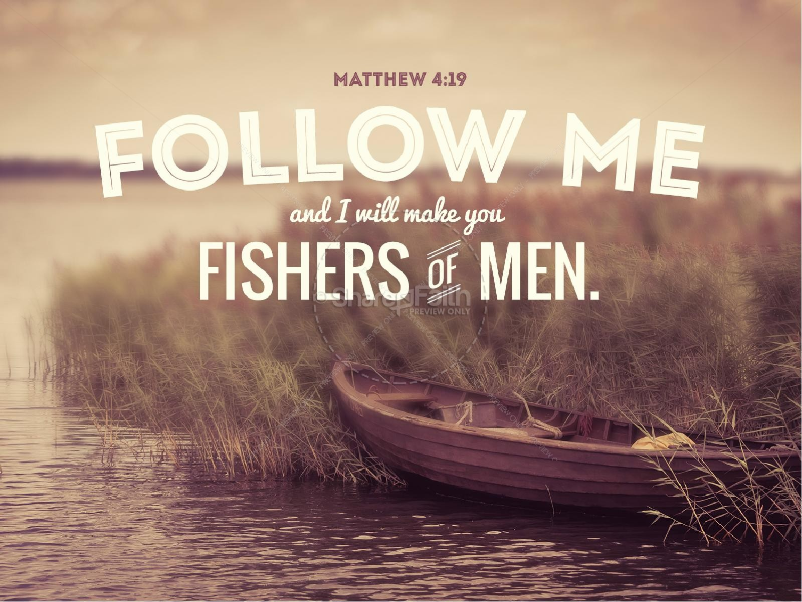Quotes Wallpaper Zip Come Follow Me Fishers Of Men Sermon Powerpoint