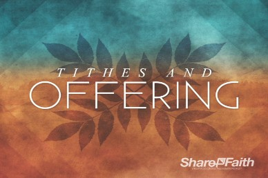 Christian Wallpaper Fall Offering Tithes And Offerings Fall Church Video Loop