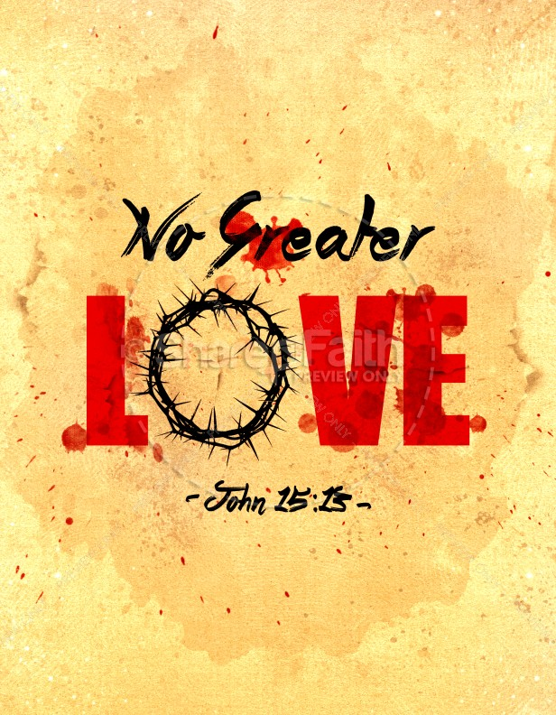 No Greater Love Church Flyer Template Flyer Templates - love templates