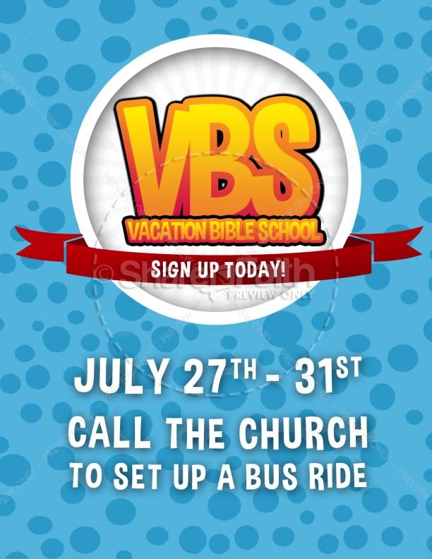 VBS Media Christian Flyer Template Flyer Templates
