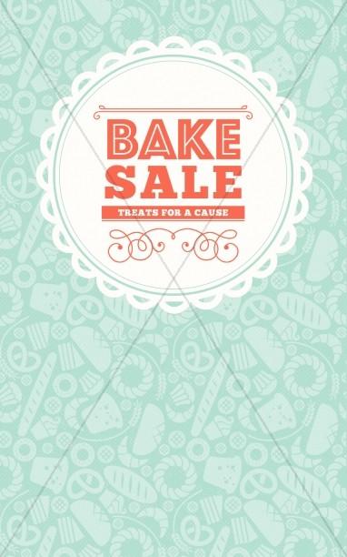 bake sale templates