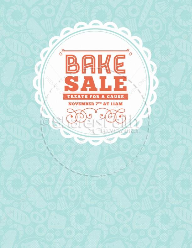 Bake Sale Church Bulletin Sermon Bulletin Covers