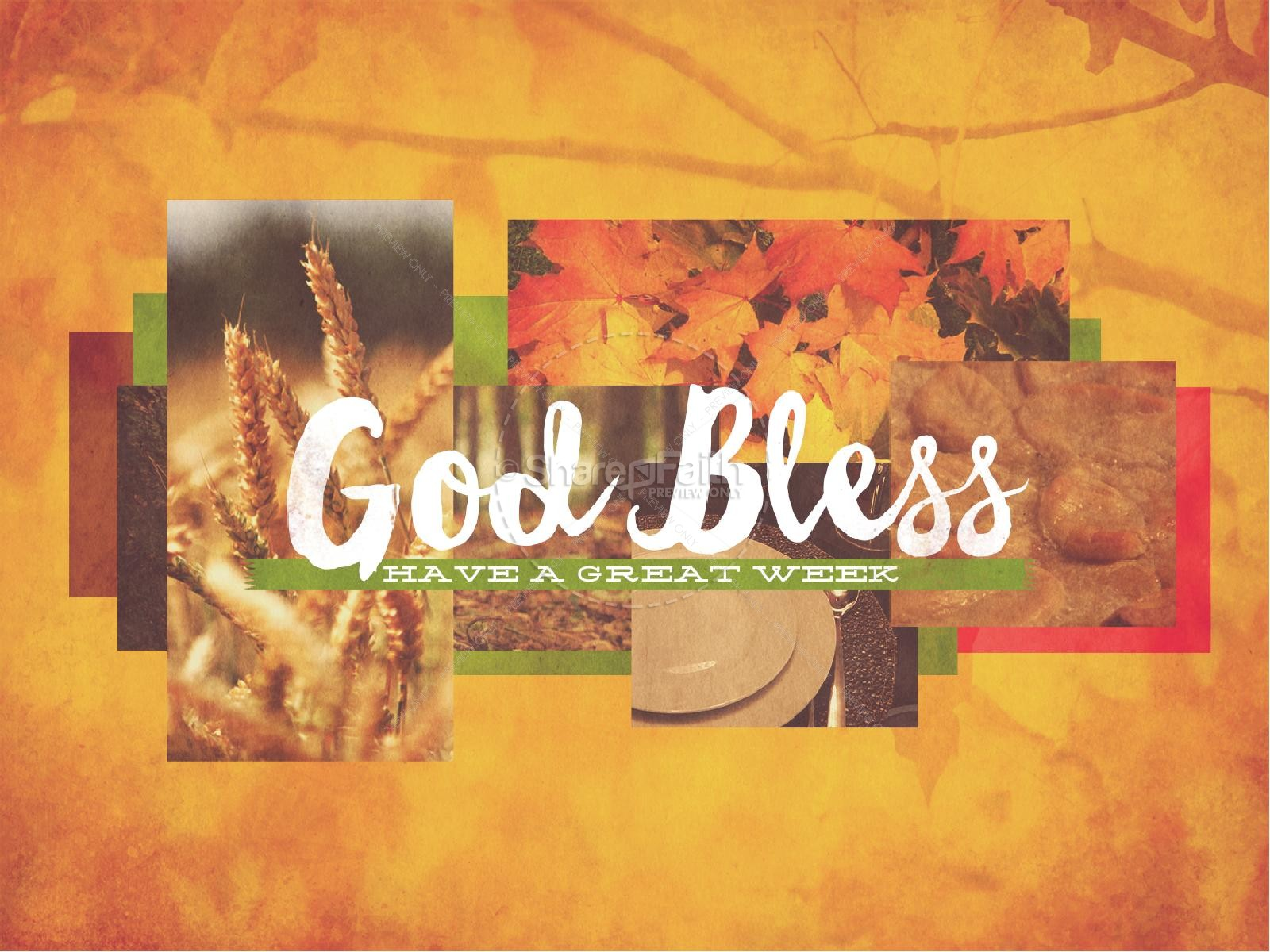 Fall Give Thanks Wallpaper Thanksgiving Fall Christian Powerpoint