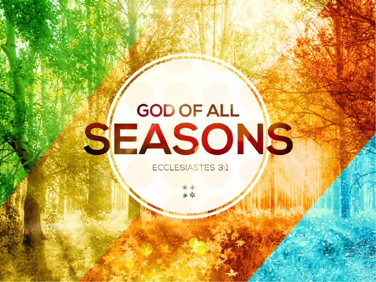 God of All Seasons PowerPoint Sermon Fall Thanksgiving PowerPoints