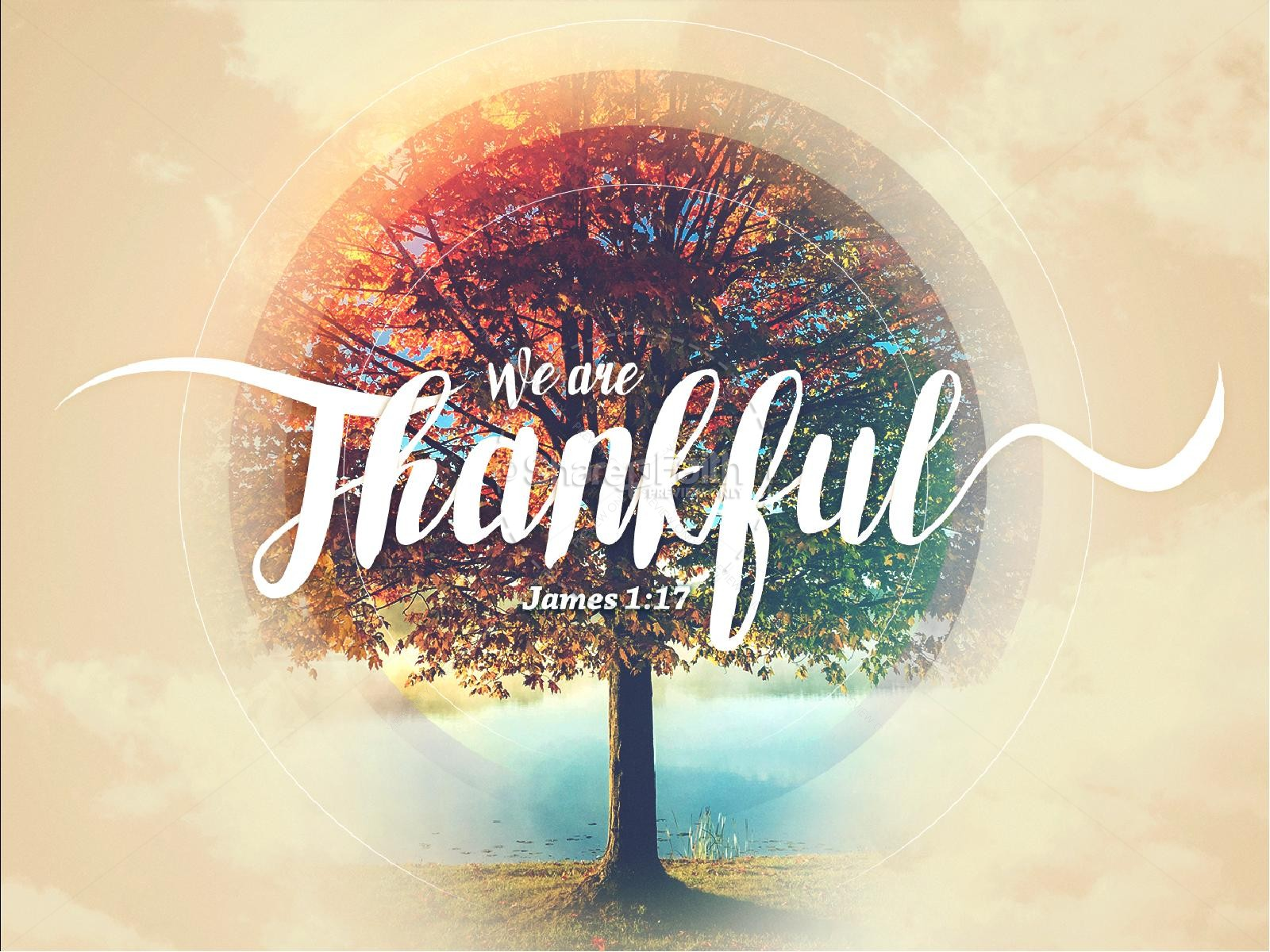 Fall Leaves Wallpaper Powerpoint Background We Are Thankful Fall Powerpoint Template Fall