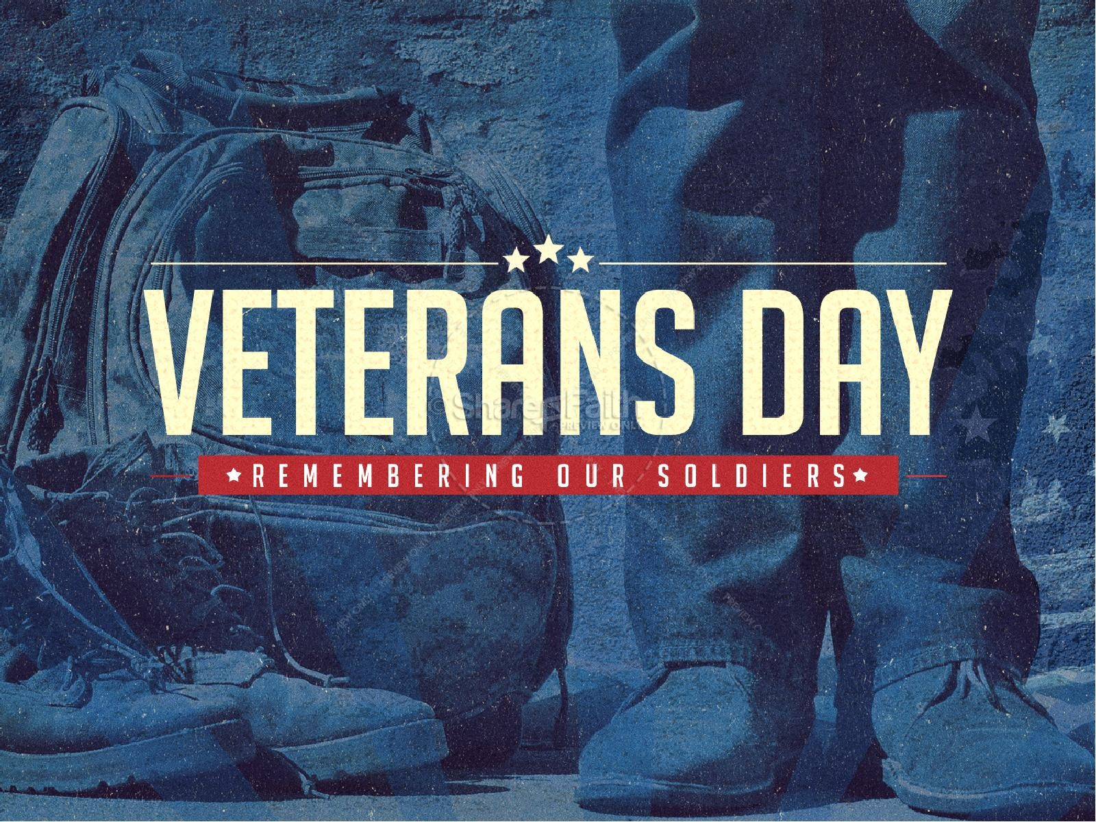 Veterans Day Church Powerpoint Template Powerpoint Sermons