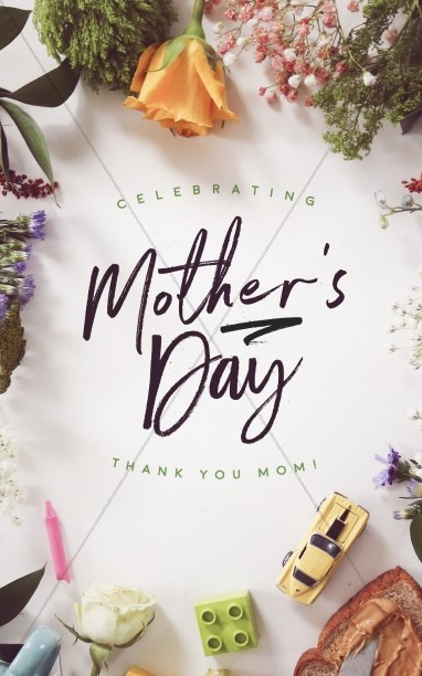 Mothers Day Bulletin Covers