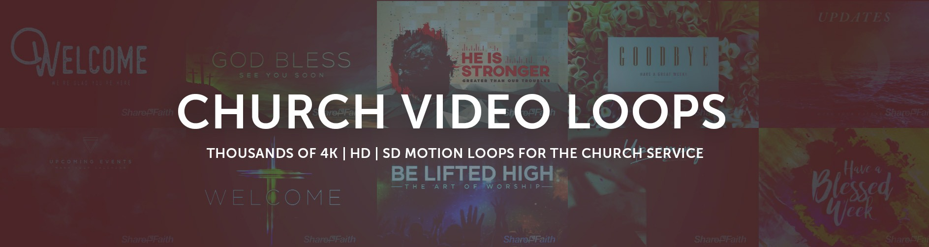 Church motion graphics sharefaith