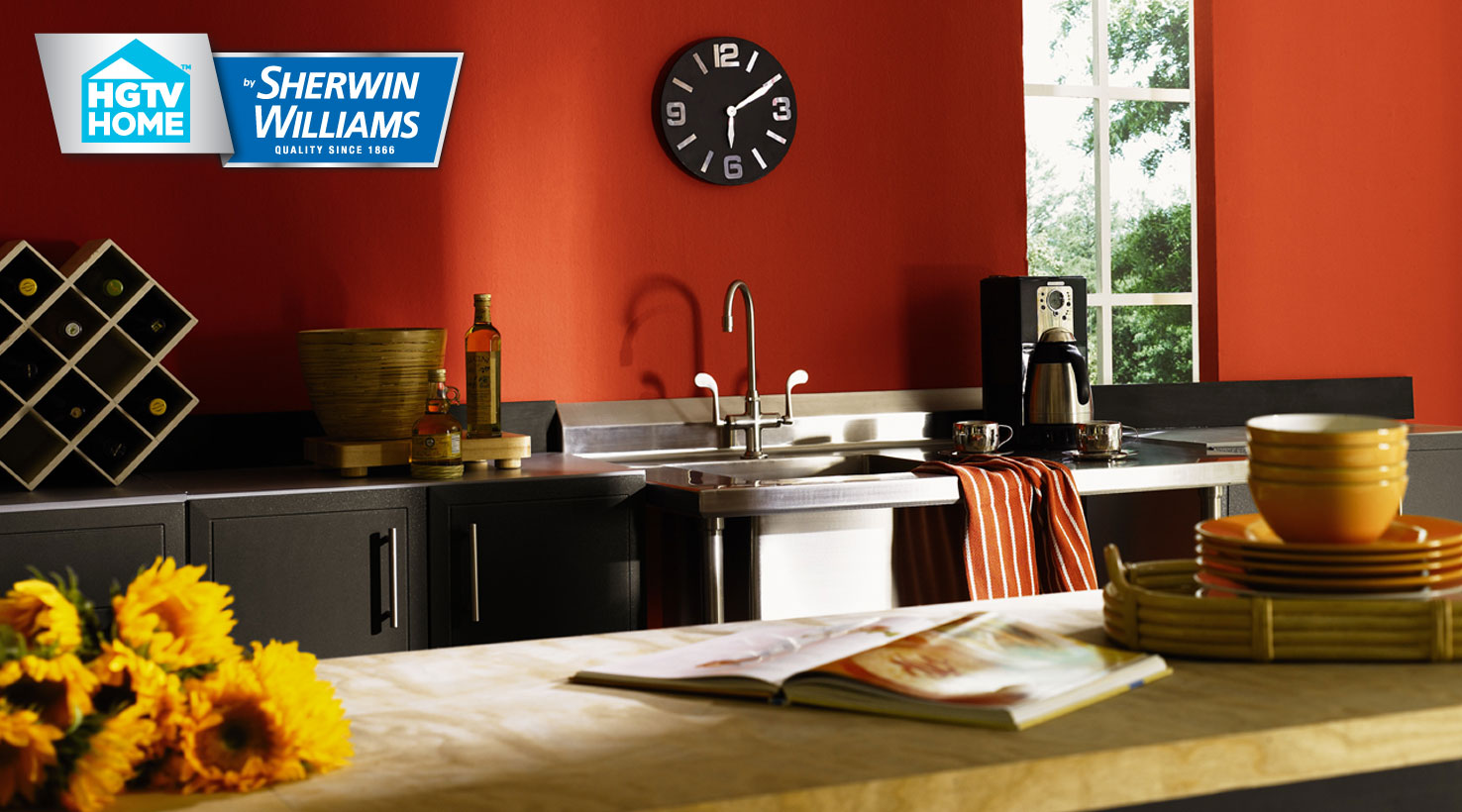 Sherwin-williams Countertop Paint Global Spice Paint Color Collection Hgtv Home By Sherwin Williams
