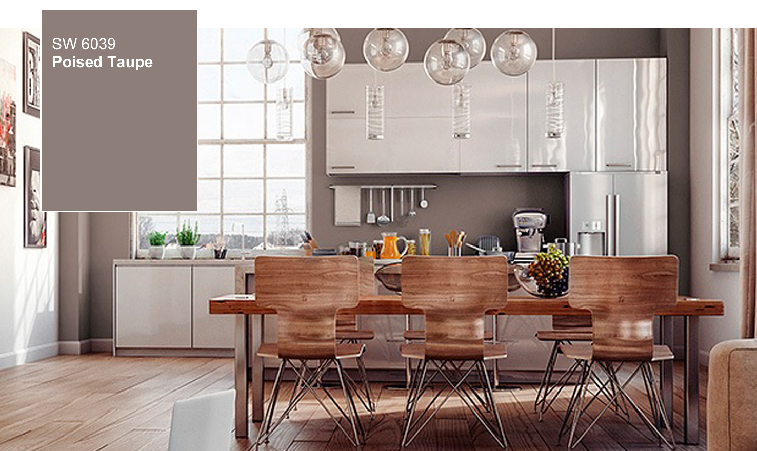 Mustard Color Paint For Kitchen 2017 Sherwin Williams Color Of The Year Poised Taupe