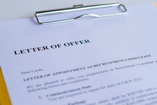 Difference between Conditional and Unconditional Offer Letter - offer letters