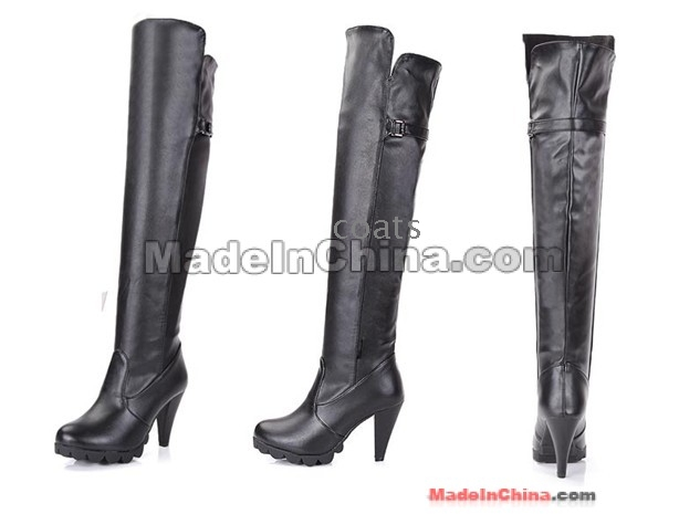 2011 Super Tall Canister Boots Woman Boots Knee