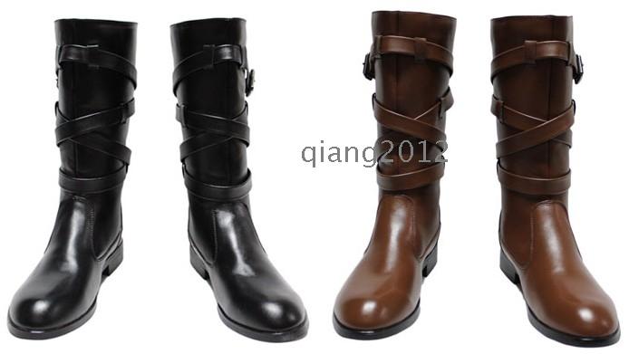 2012 Fashion Korean Men S Boots Cowboy Boots Wholesale
