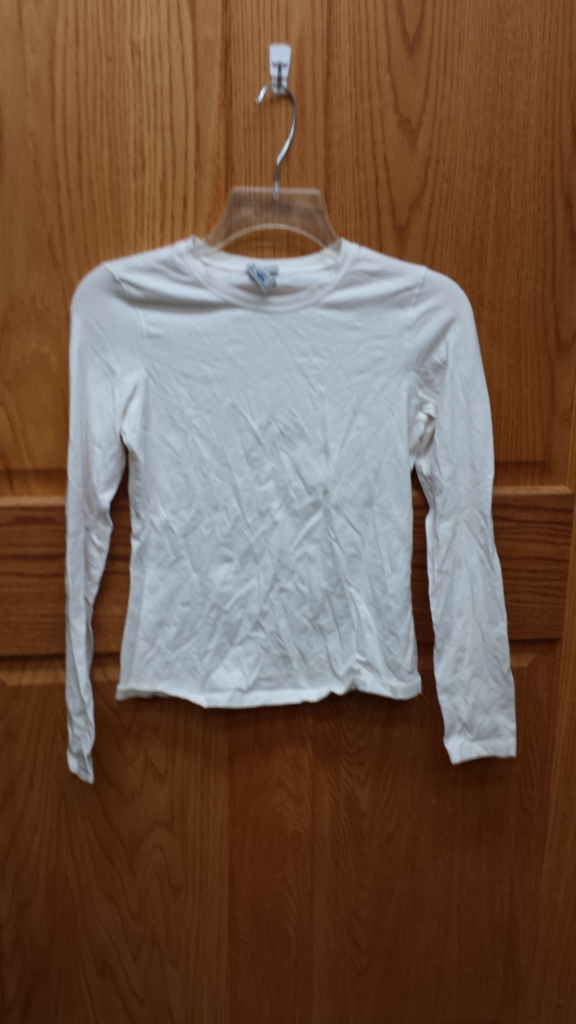 Xs Long Old Navy Size Junior Xs Shirt Long Sleeve White Perfect Fit Stretch