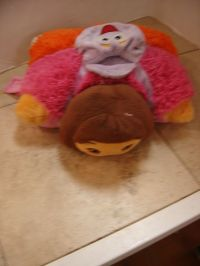 Pillow Pets Pee-Wees Dora Pillow Pet Pee-Wee | Enkore Kids