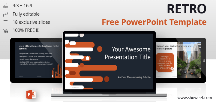 cv template powerpoint free