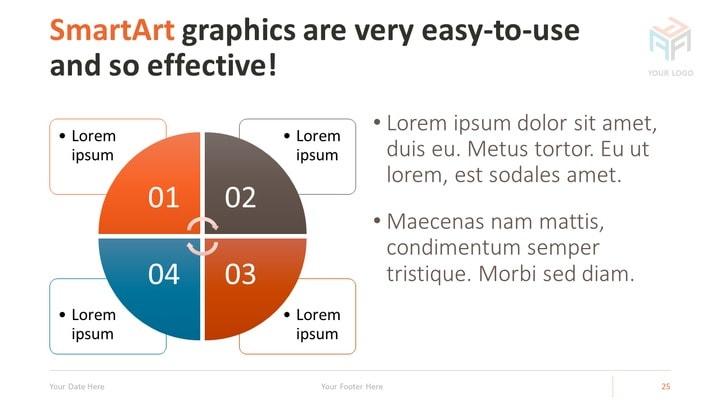 Corporate - Business PowerPoint Template - smartart powerpoint template