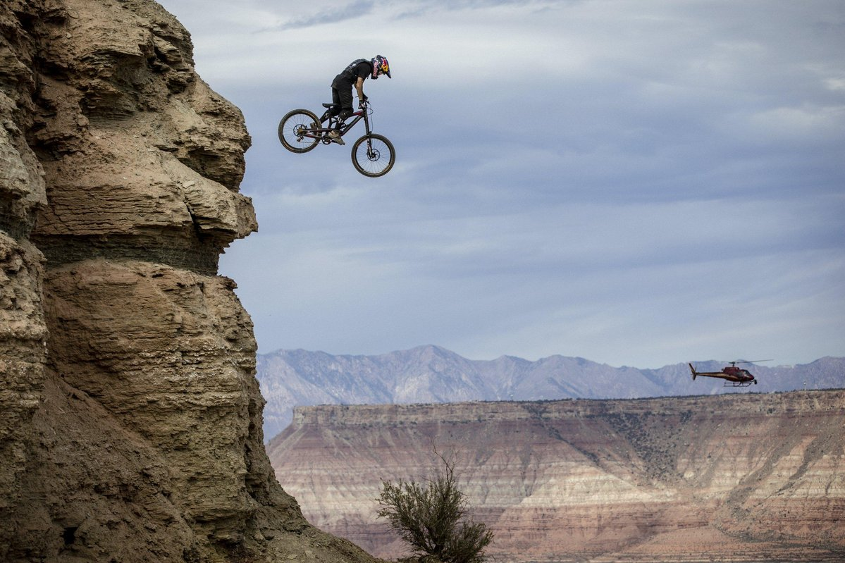 Hd Wallpaper Girl Bike Red Bull Rampage Returns To Its Raw Roots For 2016