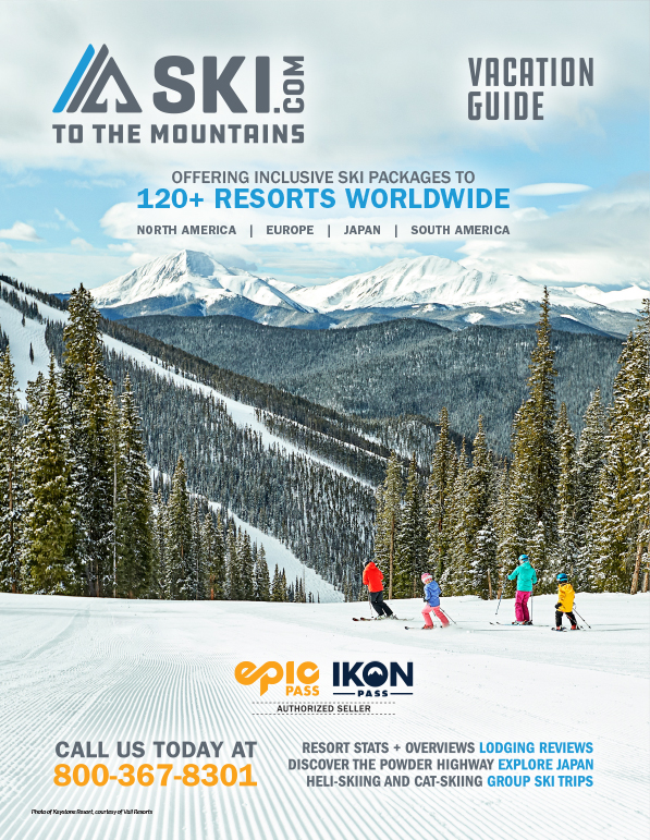 Ski Vacation Guided Brochure