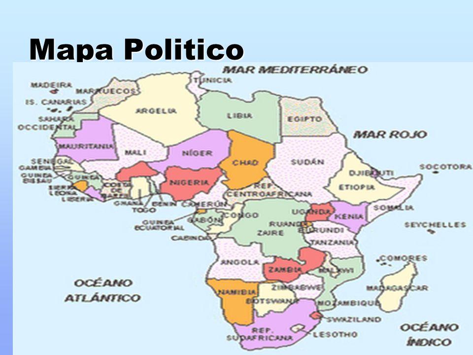 Map - Caracteristicas Del Mapa Politico