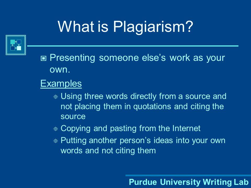 Purdue University Writing Lab Using MLA Format -- Modern Language