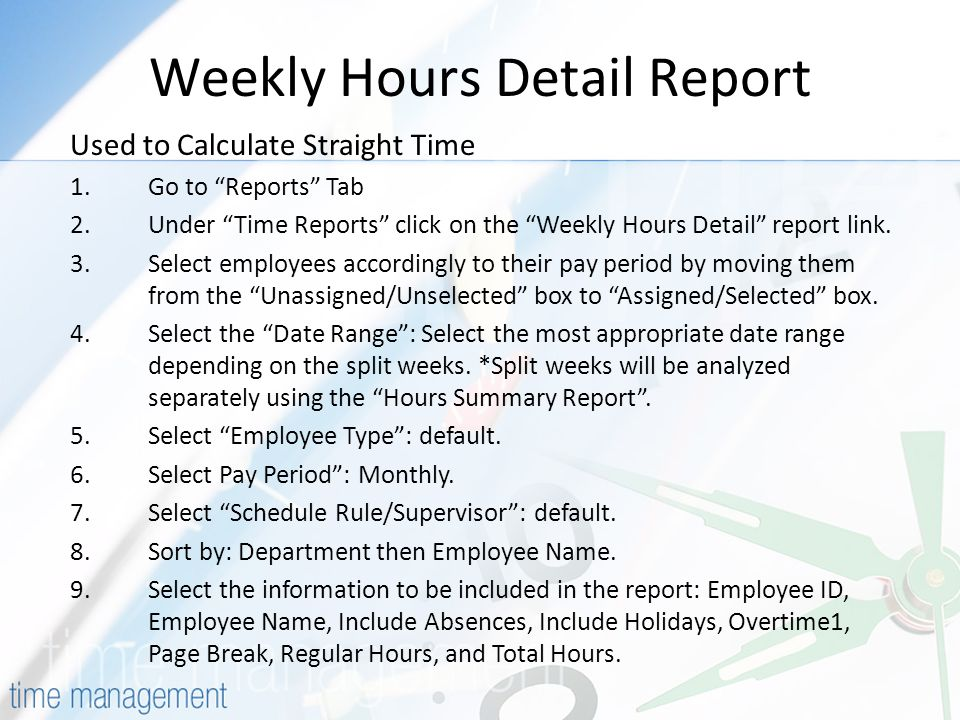 TimeForce Compliance Topics Covered Today Employee Responsibilities