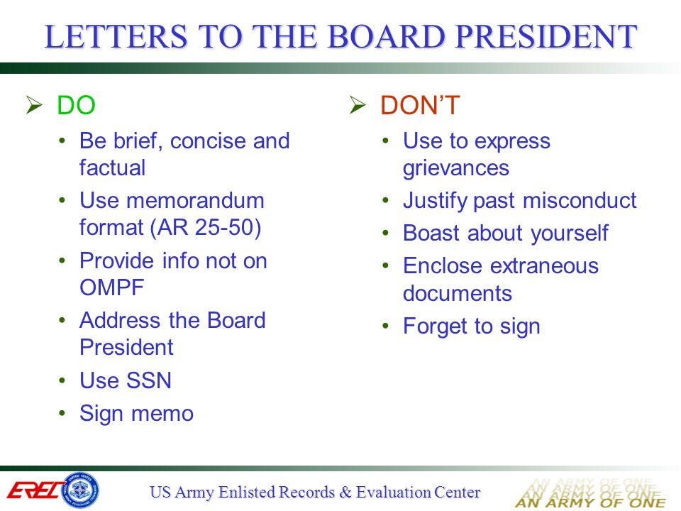 How to write army memorandum - how to sign a memo