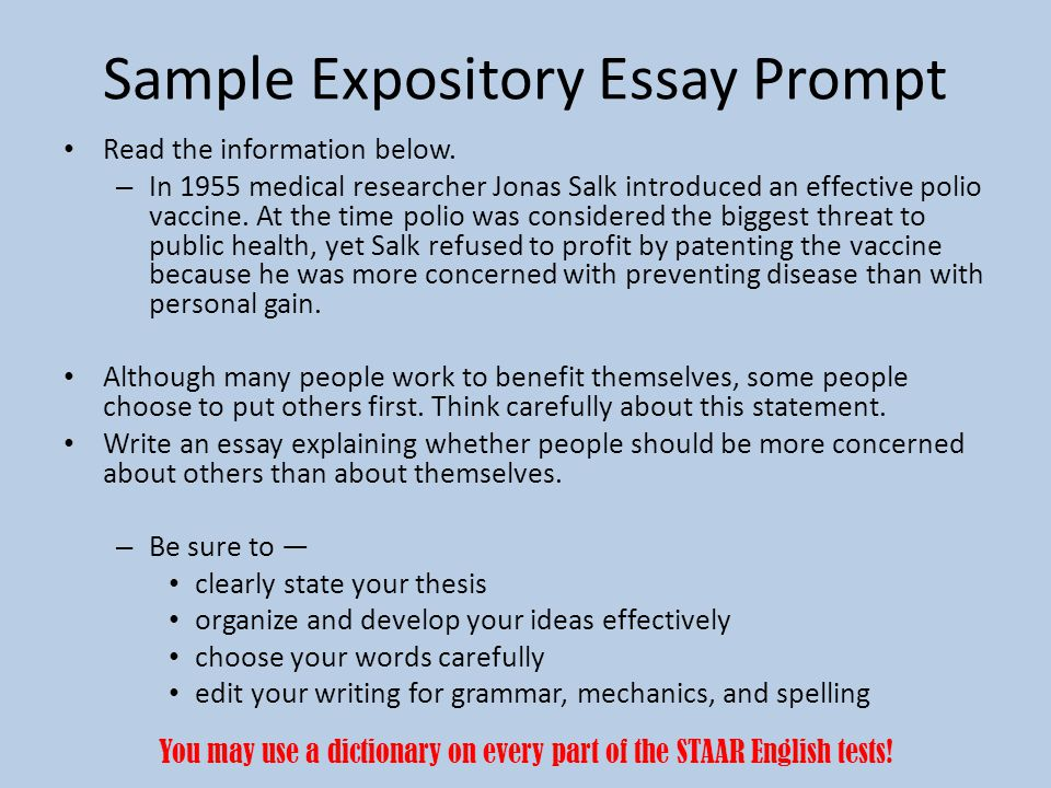 example of an expository essay letter for leave vacation customer - expository essays