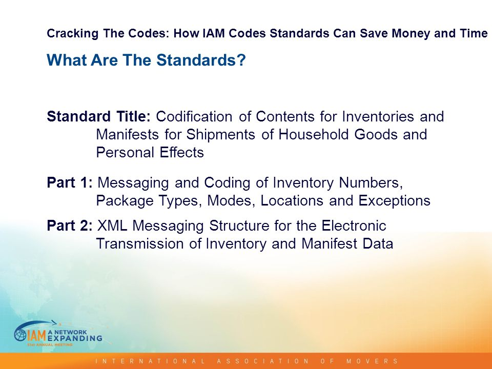 CRACKING THE CODE HOW IAM CODIFICATION STANDARD CAN HELP YOU SAVE