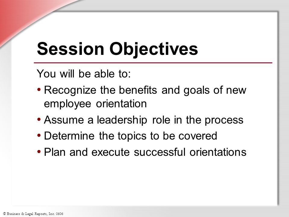 New Employee Orientation \u201cHow To\u201d for Supervisors - ppt download