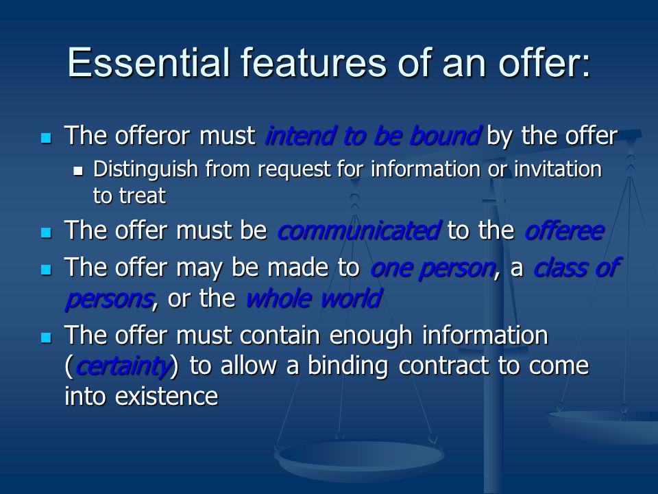 Six essential elements of enforceable contracts Custom paper Help