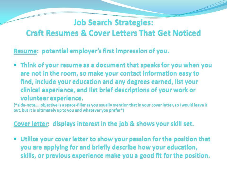 Understanding what hiring managers want  Writing impactful - impactful resume update