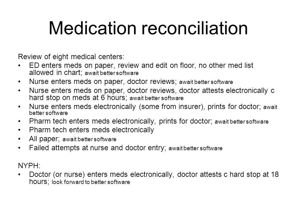 How electronic health records may influence behavior George Hripcsak